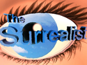 "The iamge of an eye represents the animation ""The surrealist"""